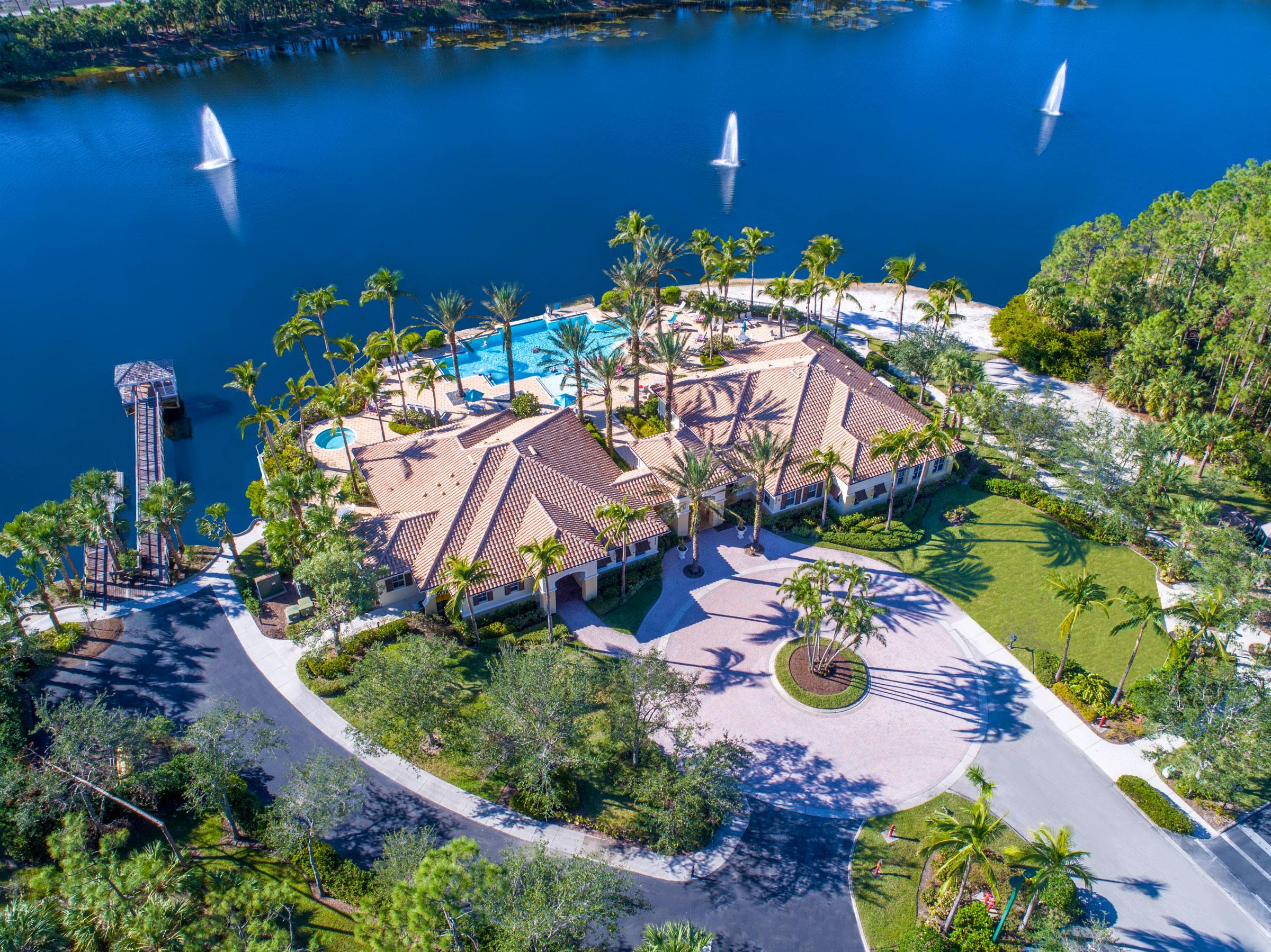 Aerial Shot of Community | Tarpon Bay Community Association, Inc. - Naples, Florida