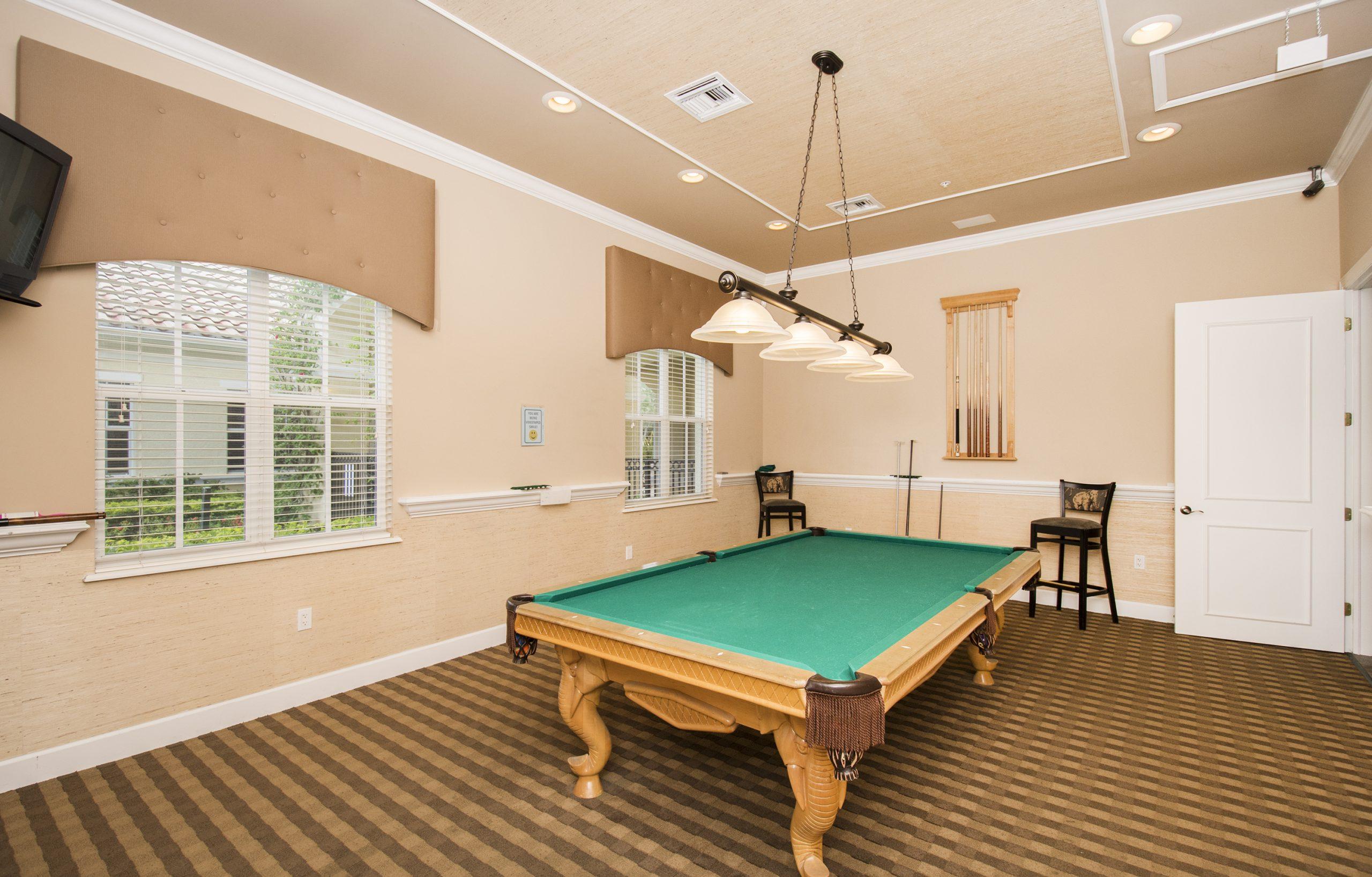 Pool Table | Tarpon Bay Community Association, Inc. - Naples, Florida