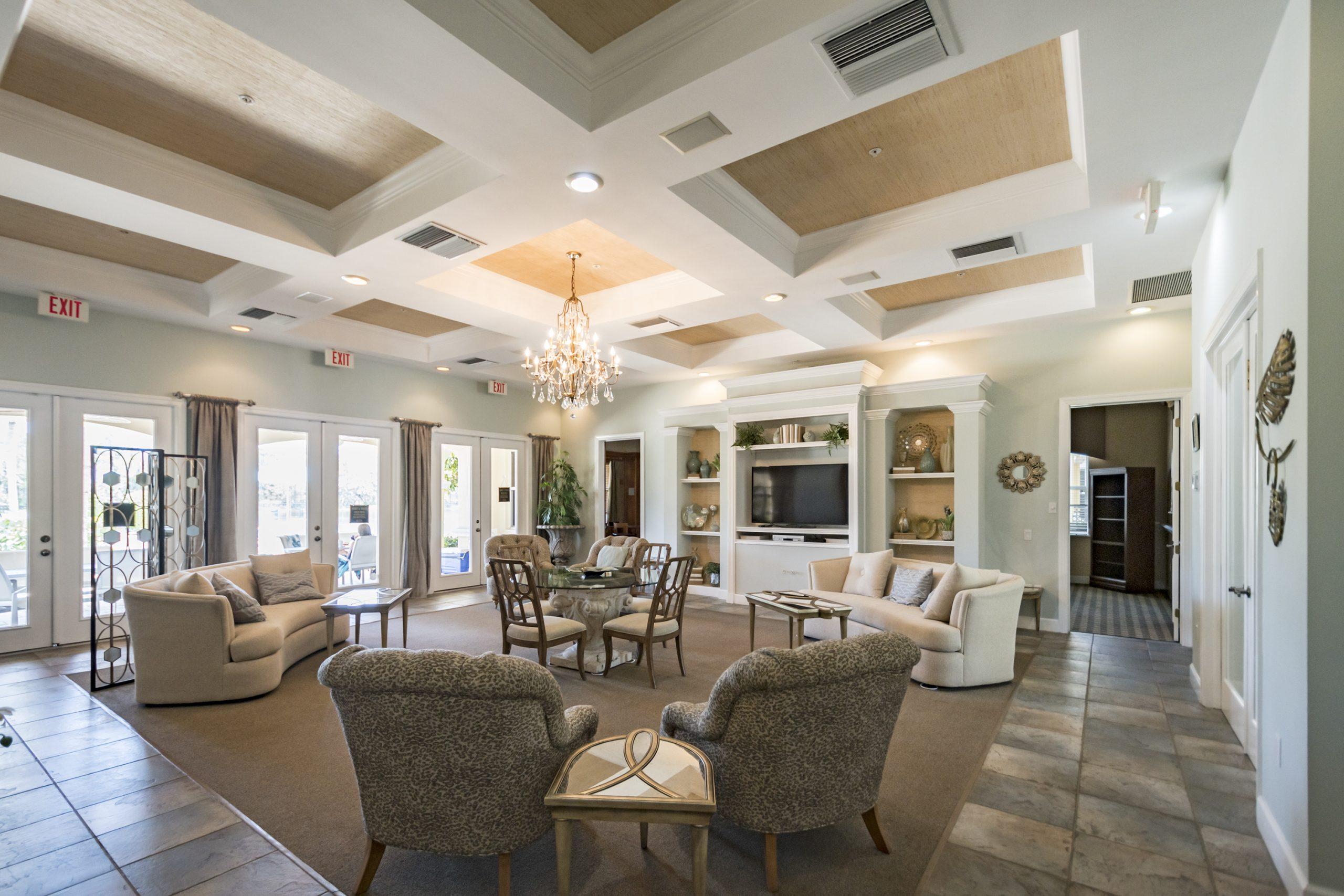 Clubhouse Interior | Tarpon Bay Community Association, Inc. - Naples, Florida