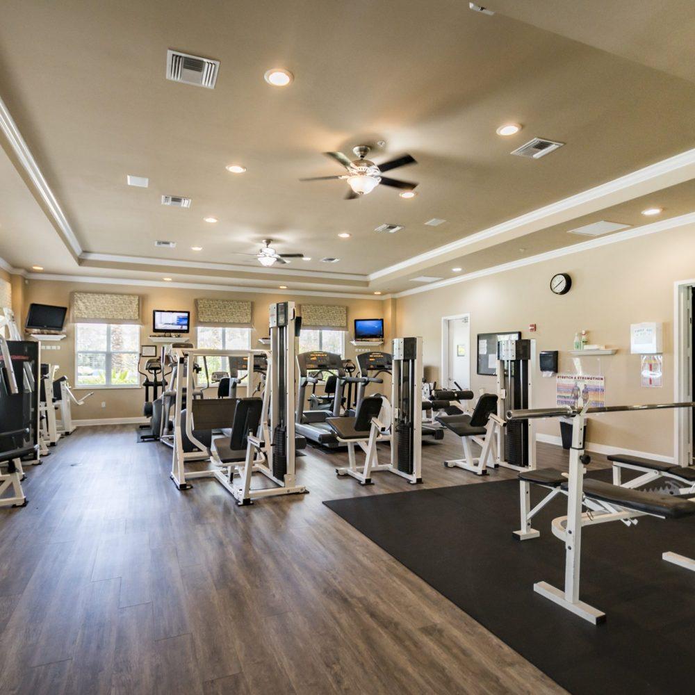Community Gym | Tarpon Bay Community Association, Inc. - Naples, Florida