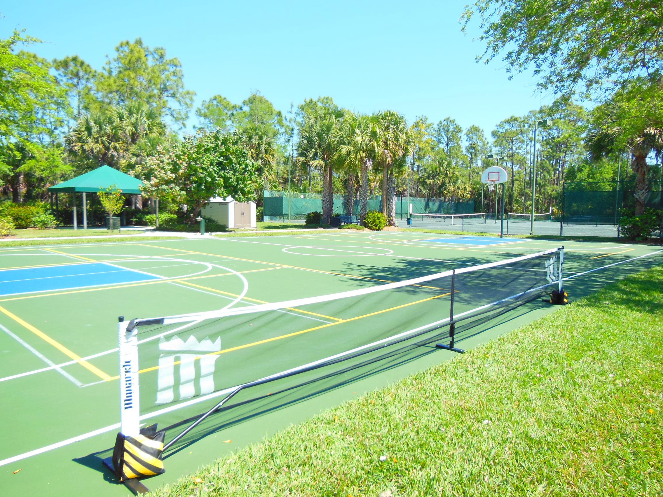Tennis Court | Tarpon Bay Community Association, Inc. - Naples, Florida